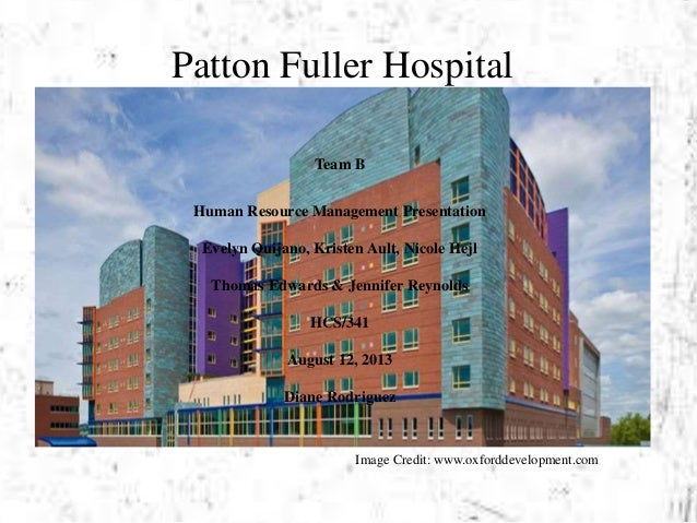 patton fuller community hospital Sensitivity analysis: patton fuller community hospital essay sample patton fuller community hospital has been runing since 1975 besides operating with the end of maintaining patient care their top precedence there are other elements that demand the facility's operations attending at patton fuller.