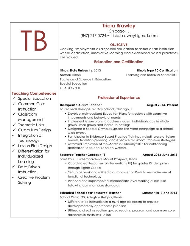 Illinois Special Education Teacher Certification Requirements - The ...