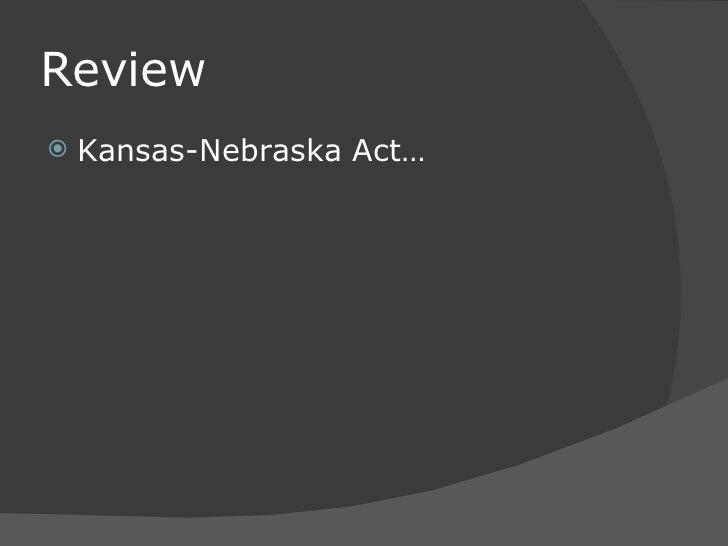 Kansas–Nebraska Act