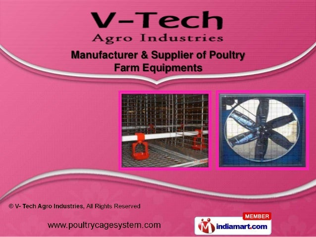 Manufacturer & Supplier of Poultry       Farm Equipments