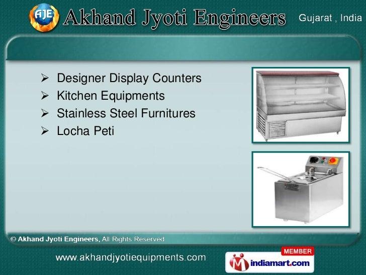    Designer Display Counters   Kitchen Equipments   Stainless Steel Furnitures   Locha Peti