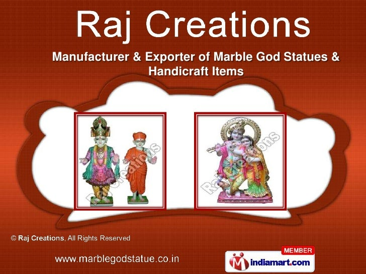 Manufacturer & Exporter of Marble God Statues &               Handicraft Items