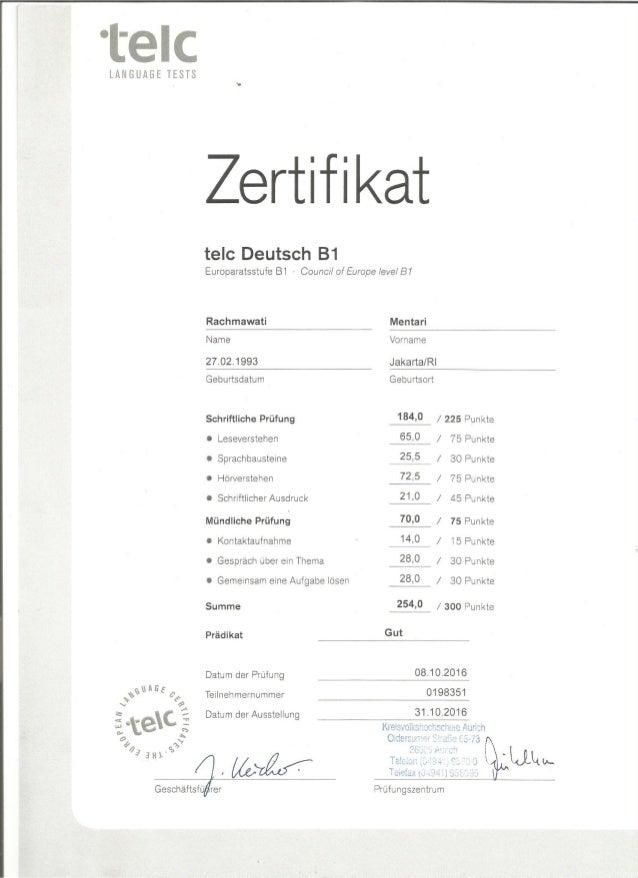 zertifikat B1