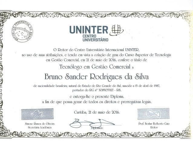 certificado_uninter2948 Portador De Diploma #12