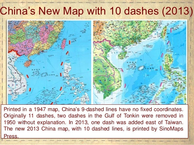 The south china sea dispute 5 printed in a 1947 map chinas gumiabroncs Gallery