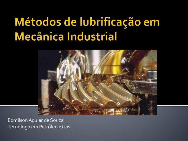 EdmilsonAguiar de Souza Tecnólogo em Petróleo e Gás