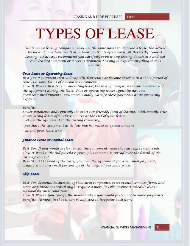 18632726 Leasing And Hire Purchase Contract In Banking Sector