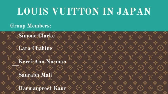 ivey case study louis vuitton japan Louis vuitton in japan case solution & analysis, case study solution by justin paul, charlotte feroul  our tutors are available 24/7 to assist in your academic stuff, our professional writers are ready to serve you in services you n.