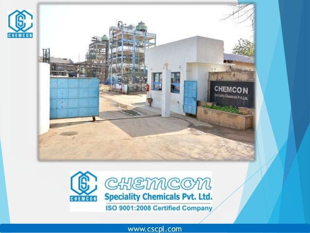 Corporate Presentation) Chemcon Speciality Chemicals PVT  LTD 01