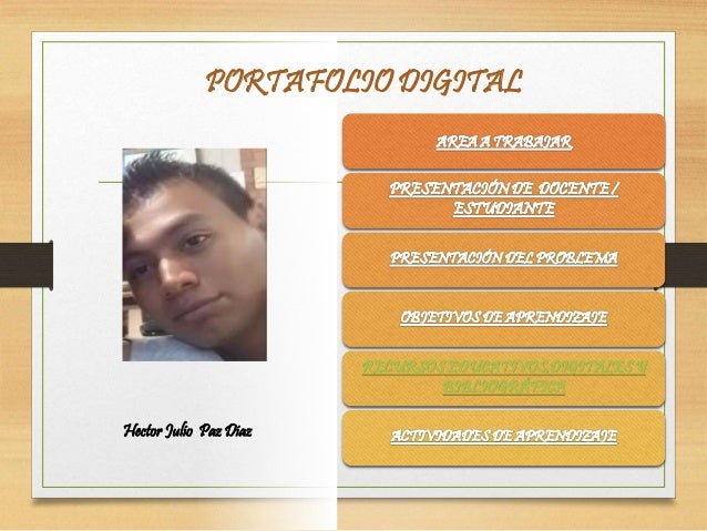 PORTAFOLIO DIGITAL RECURSOS EDUCATIVOS,DIGITALES Y BIBLIOGRÁFICA Hector Julio Paz Diaz