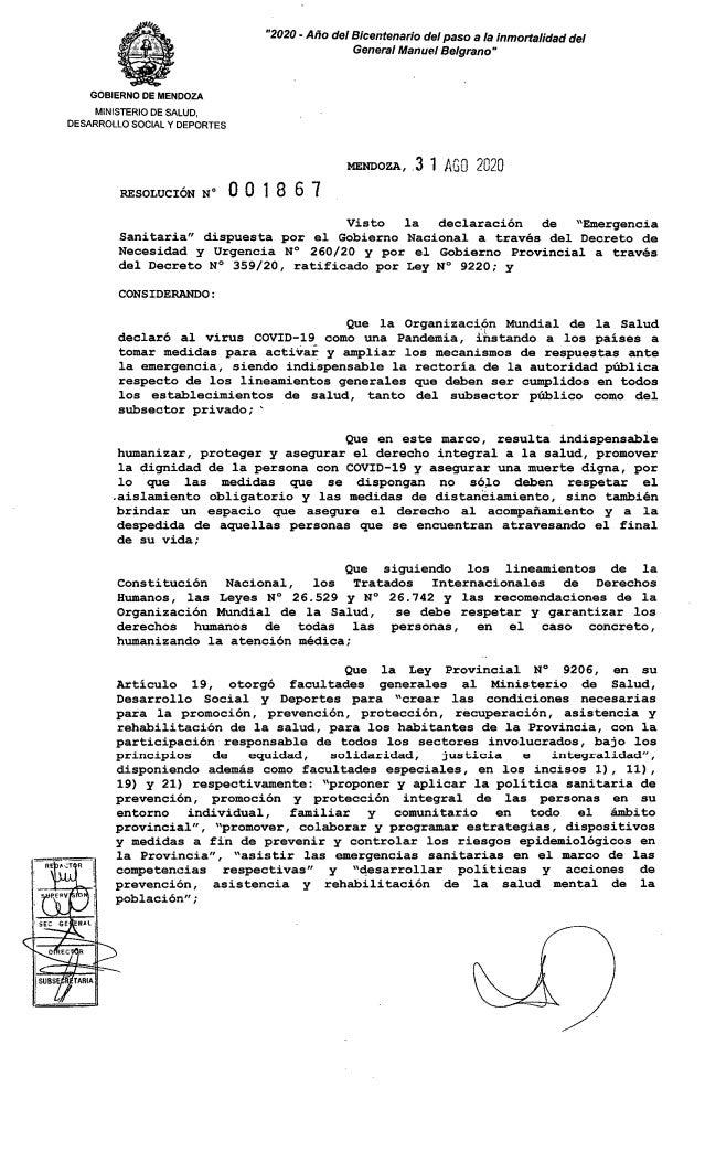 Protocolo para acompañamiento a pacientes terminales