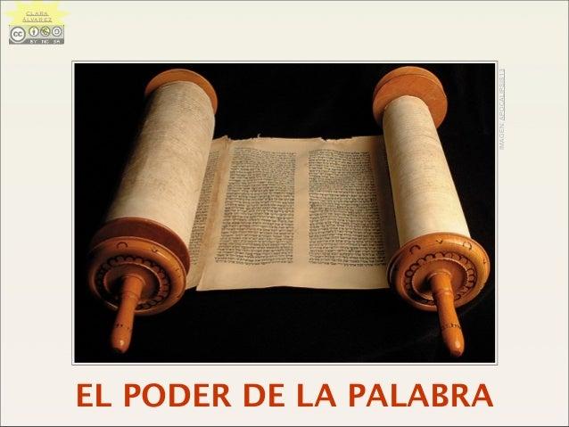 EL PODER DE LA PALABRA IMAGEN:APOCALIPSIS13 CLARA ÁLVAREZ