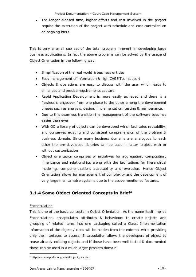 Court case management system 19 project documentation court case management pronofoot35fo Images