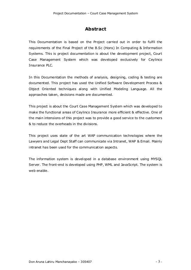 Court case management system lahiru manchanayake 3 project documentation court case management pronofoot35fo Images