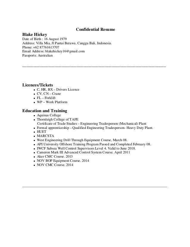 Confiential resume how to write birthday letters