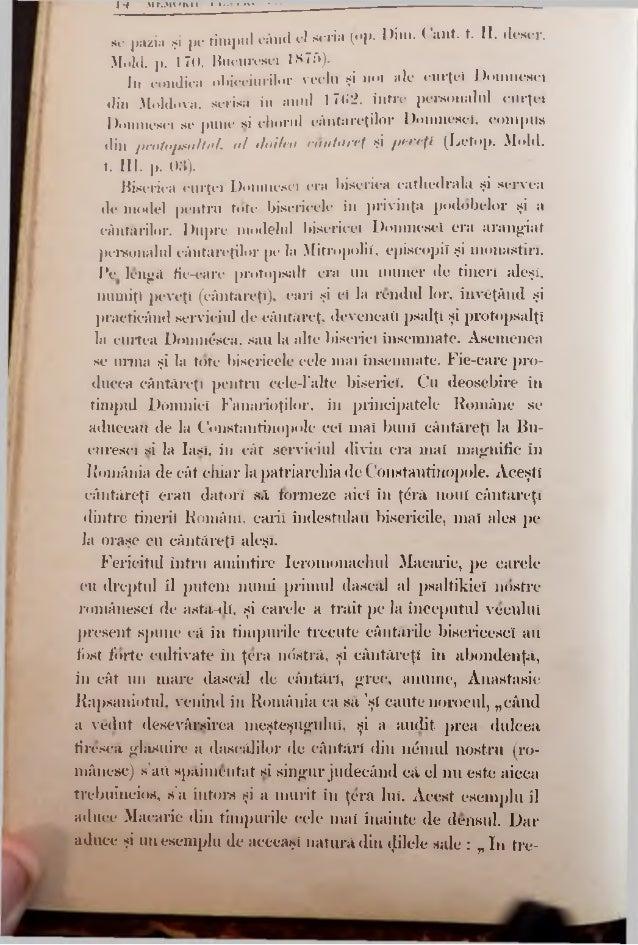 sc'pîlzia şi pe timpul când el scria (op. Dim. Cant. t. II, deecr. Mold. p. 170, Bucurescî 1875). In condica obiceiurilor ...