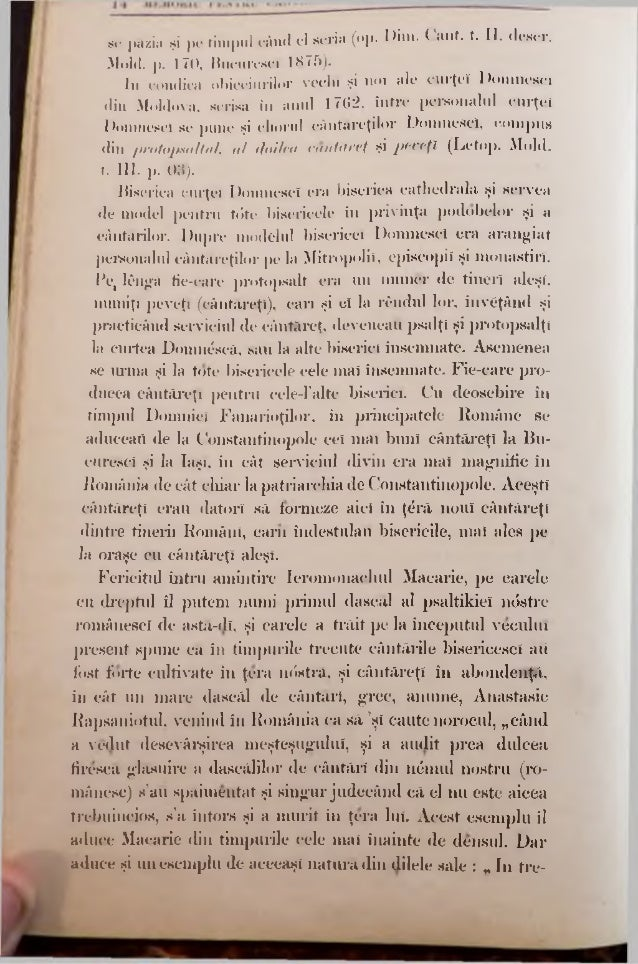 la Români, au contribuit mult, monastirile din orient care ,iveau în România monastiri date sub administraţia lor, si unde...