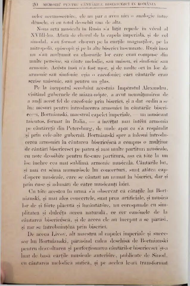 2 2 MEMORlC PENTRU CÂNTĂRILE BISERICESCI ÎN ROMANIA slavonesc, numit altniinterea bulgăresc sau scrbesc, dupre cum şi limb...