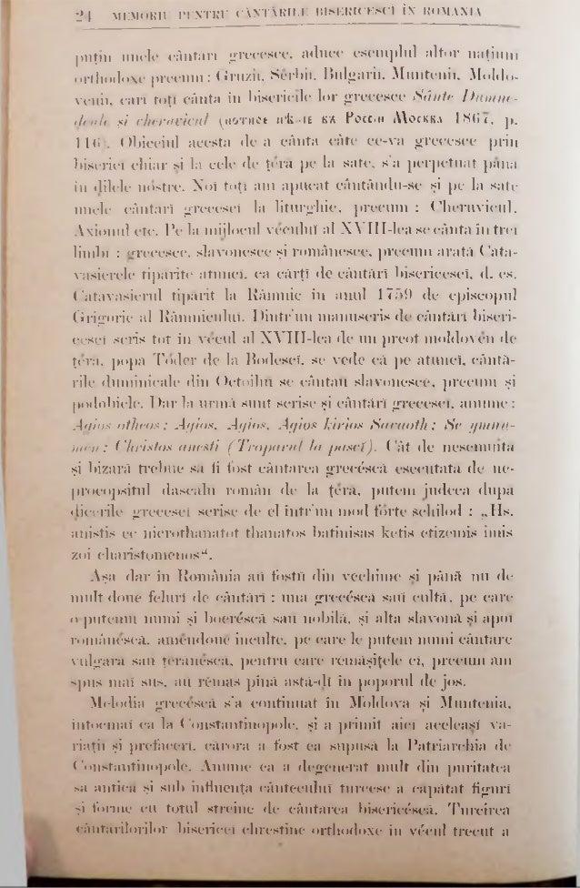 Ml . H i l l IT.. încercat a o perfecţiona. Aşa art fost noul protopsalt Cliriwinth, şi preotul Balasie contimporan (în vc...