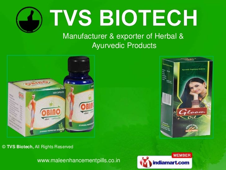Manufacturer & exporter of Herbal &                                    Ayurvedic Products© TVS Biotech, All Rights Reserve...