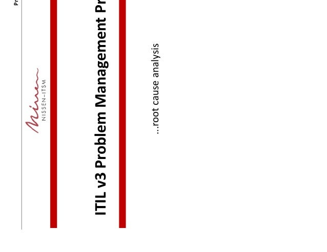 Problem Management: ITIL Problem Management Process-detailed (ITIL V3