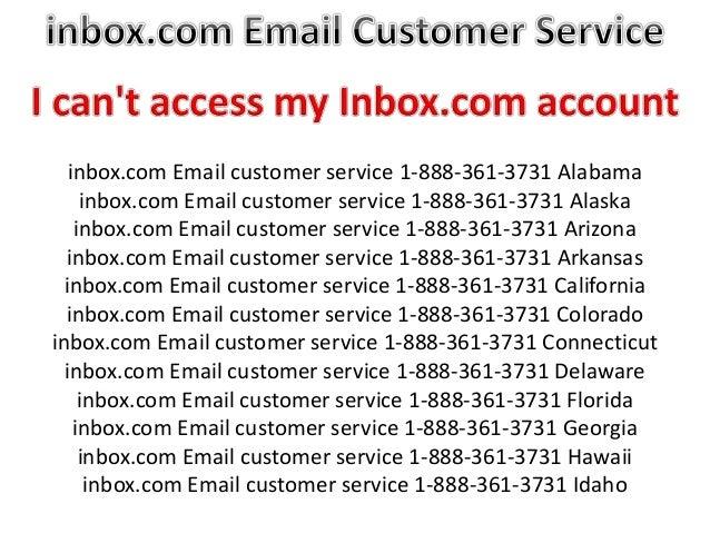 Inbox com Email customer service 1-855-233-7309 California