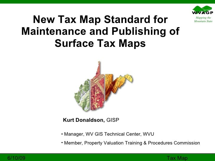 189-3 WV Surface Tax Map Standard (2009)