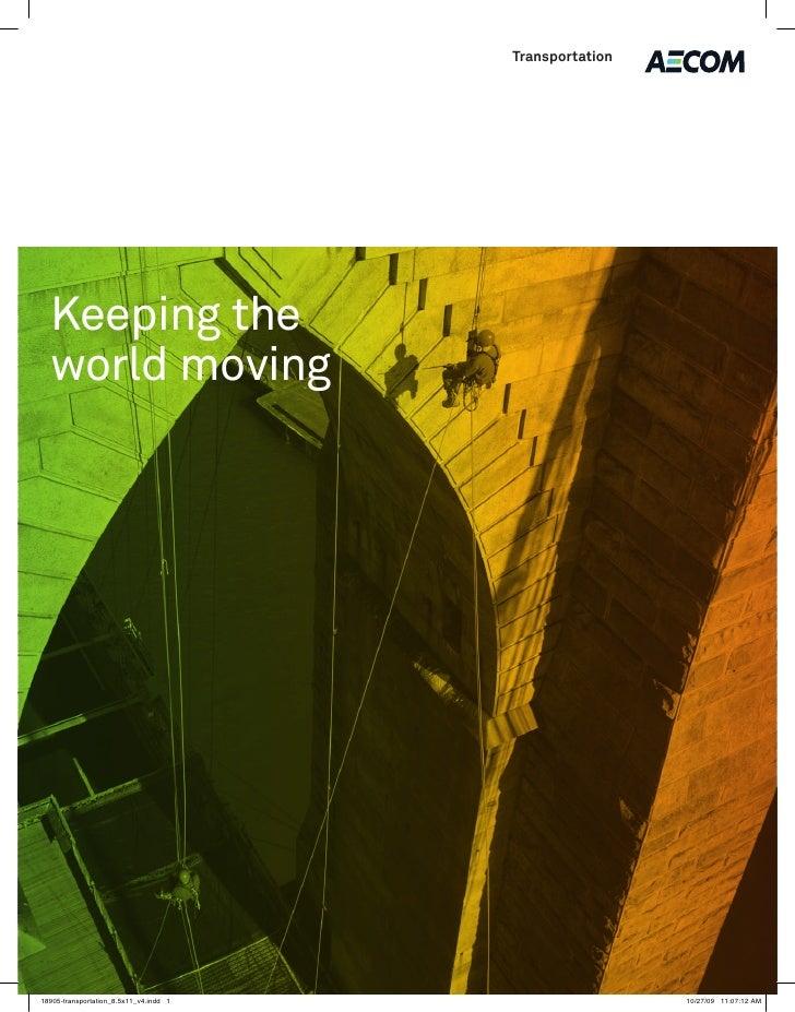 Transportation     Keeping the world moving