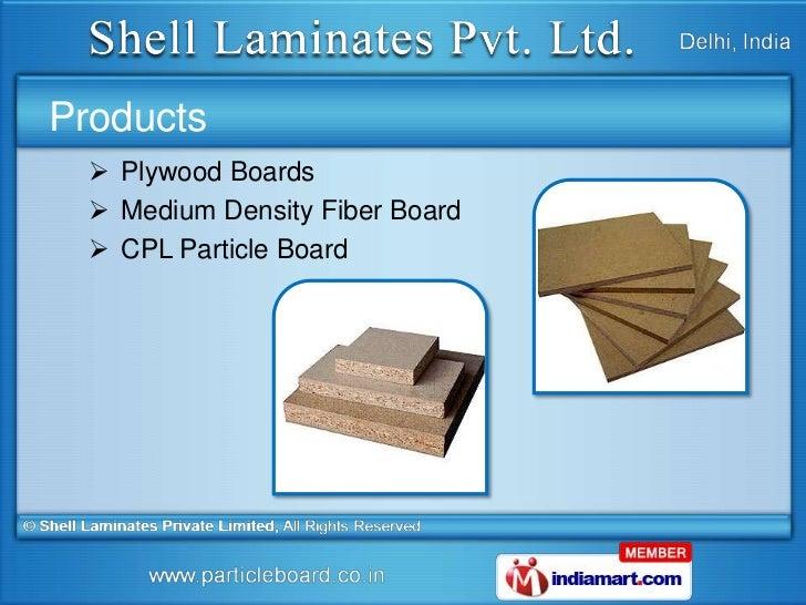 Medium Density Fibre Board Suppliers ~ Plywood boards by shell laminates pvt ltd new delhi