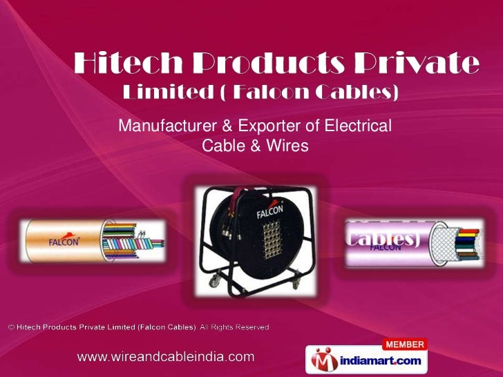 Manufacturer & Exporter of Electrical Cable & Wires<br />