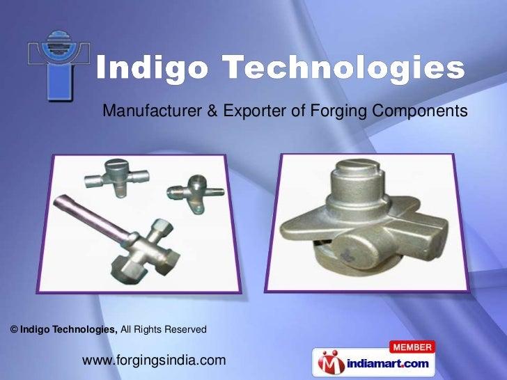 Manufacturer & Exporter of Forging Components<br />