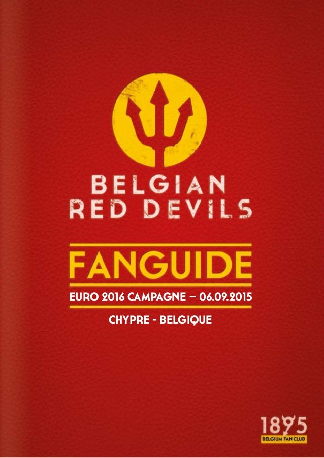 EURO 2016 CAMPAGNE – 06.09.2015 CHYPRE - BELGIQUE
