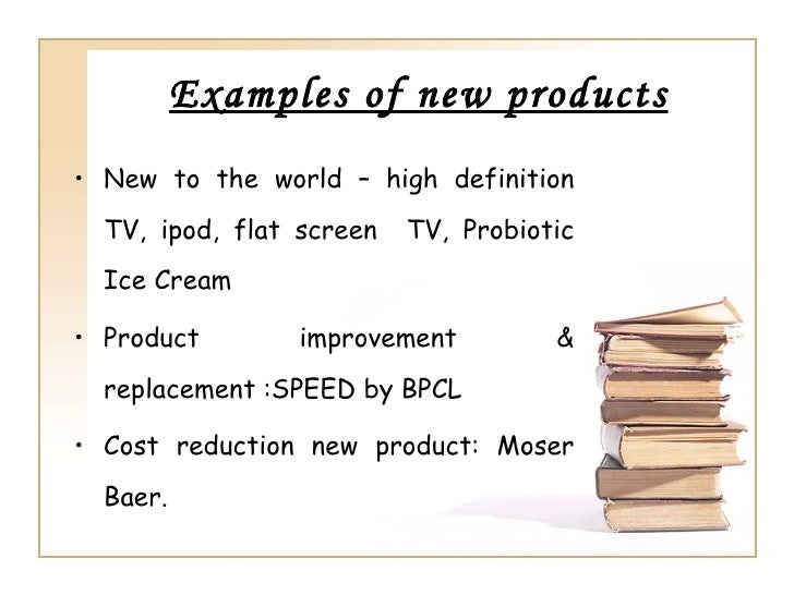Research papers on new product development