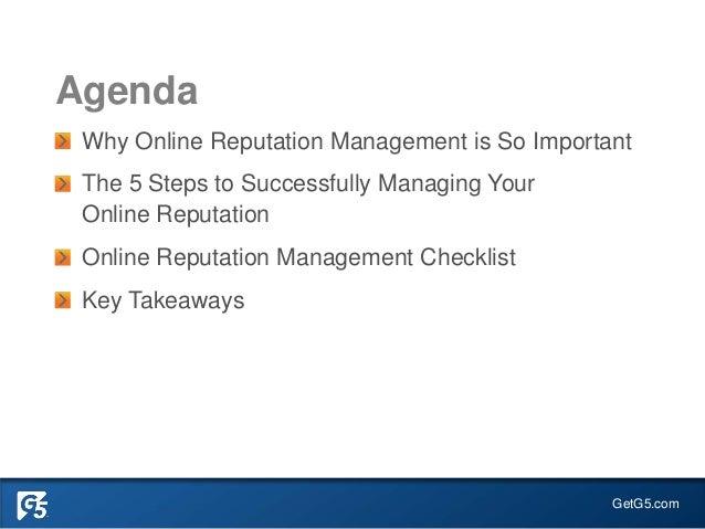 Successfully Manage your Online Reputation - Senior Living Slide 2