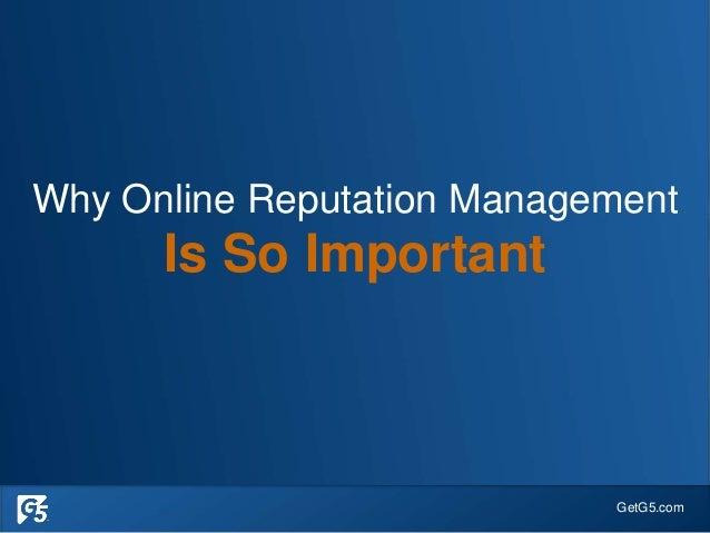Successfully Manage your Online Reputation - Senior Living Slide 3