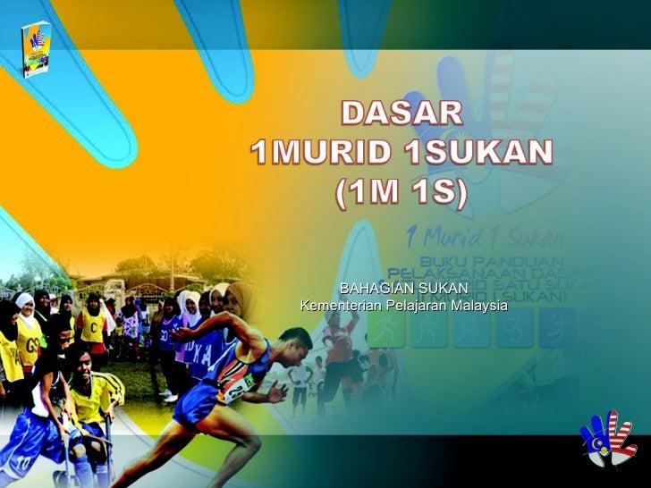 BAHAGIAN SUKAN Kementerian Pelajaran Malaysia