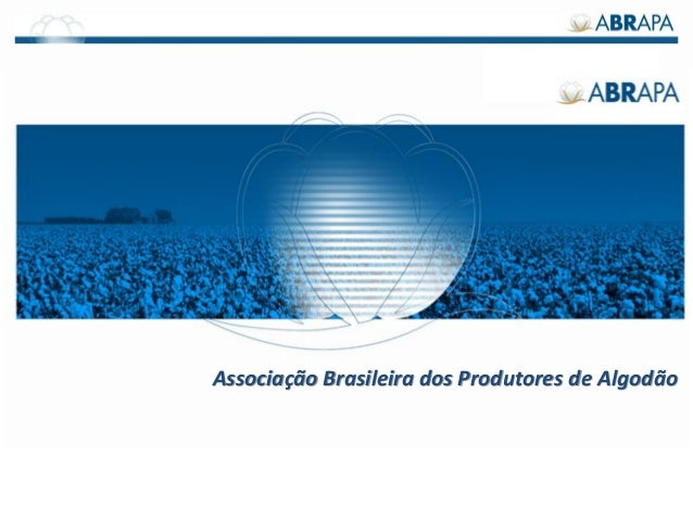 Associação Brasileira dos Produtores de Algodão