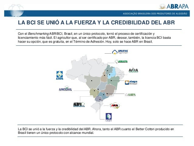 LA BCI SE UNIÓ A LA FUERZA Y LA CREDIBILIDAD DEL ABR Con el Benchmarking ABR/BCI, Brasil, en un único protocolo, tornó el ...