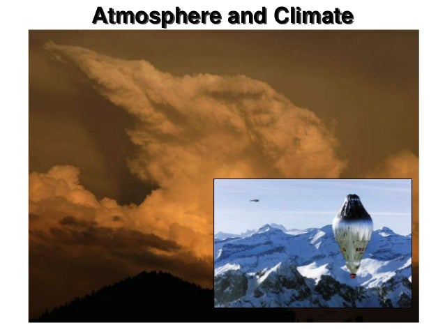 Chapter 20Atmosphere and Climate