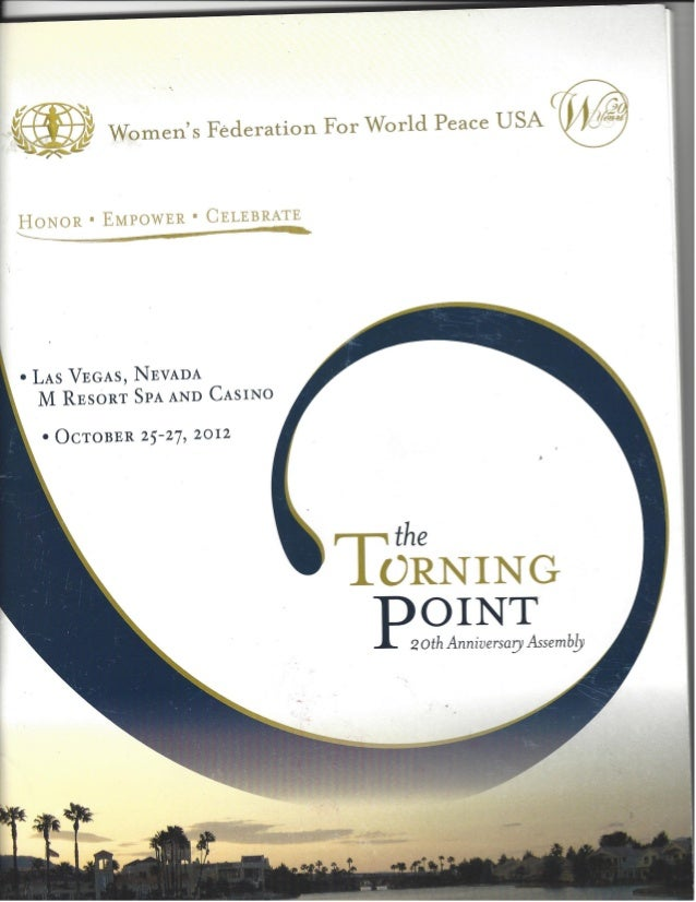 Turning Point conference conference book cover