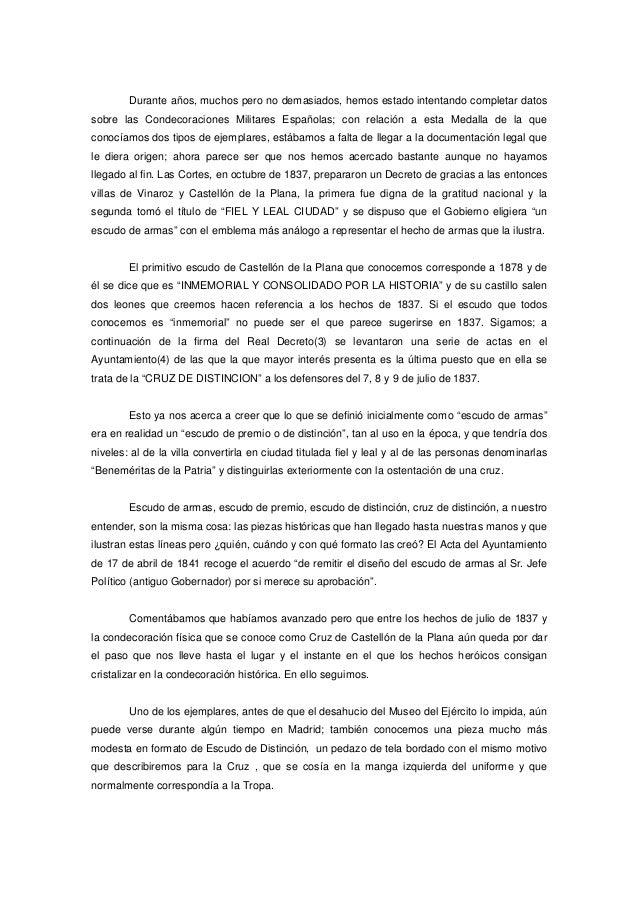 Durante años, muchos pero no demasiados, hemos estado intentando completar datos sobre las Condecoraciones Militares Españ...