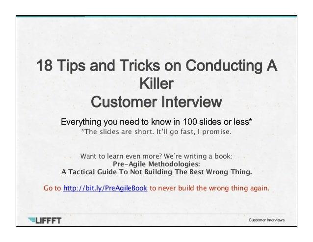 interviews tips