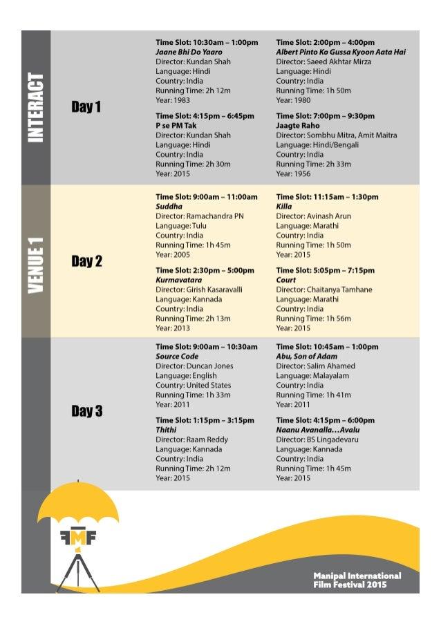 MIFF_Schedule