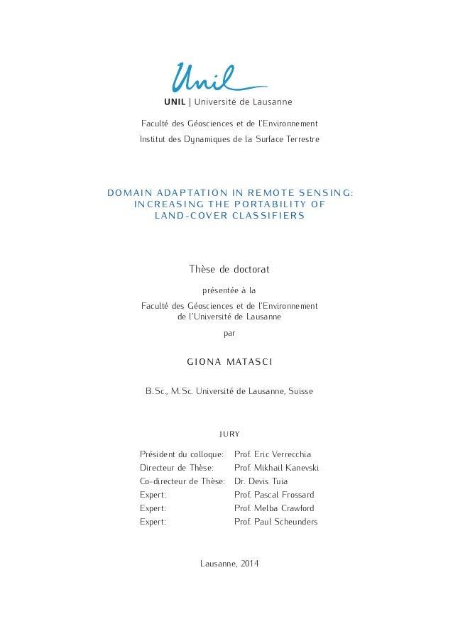 Phd thesis remote sensing        Original  www exarchat eu