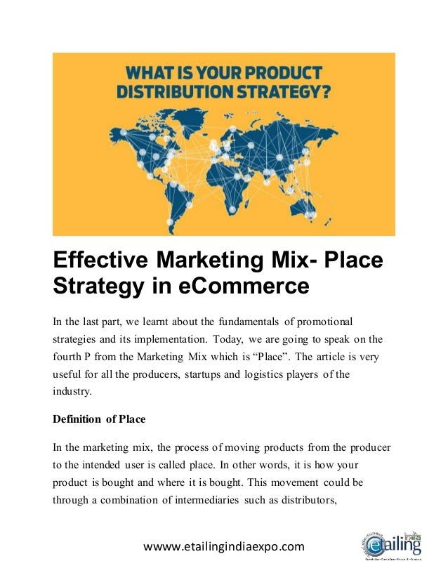 place in marketing mix pdf
