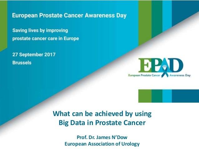 What can be achieved by using Big Data in Prostate Cancer Prof. Dr. James N'Dow European Association of Urology