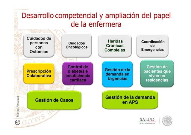Gestión de Gestión de la Coordinación de Emergencias Desarrollo competencial y ampliación del papel de la enfermera Cuidad...