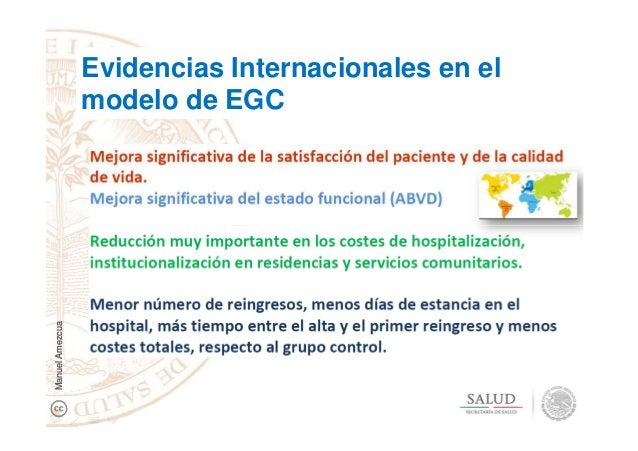 Evidencias Internacionales en el modelo de EGC ManuelAmezcua
