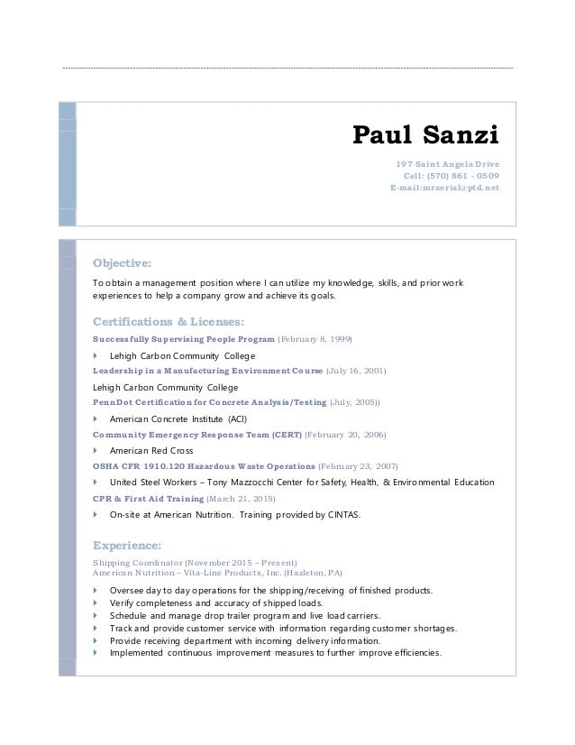 Best Carbon Management Resume Contemporary - Best Resume Examples ...