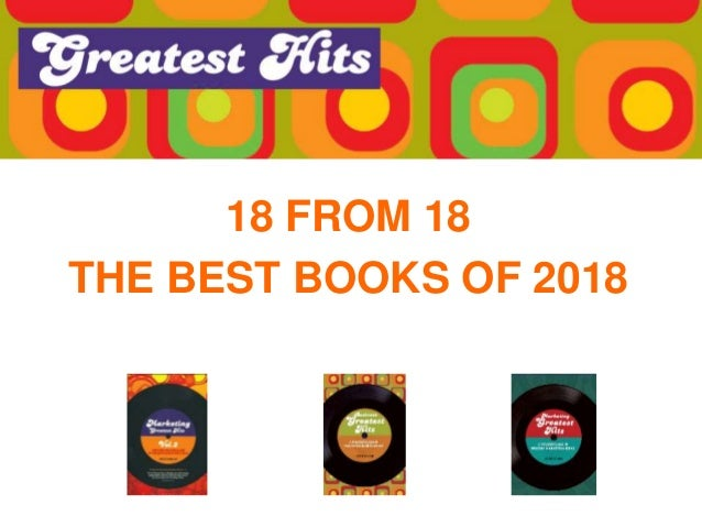 18 FROM 18 THE BEST BOOKS OF 2018